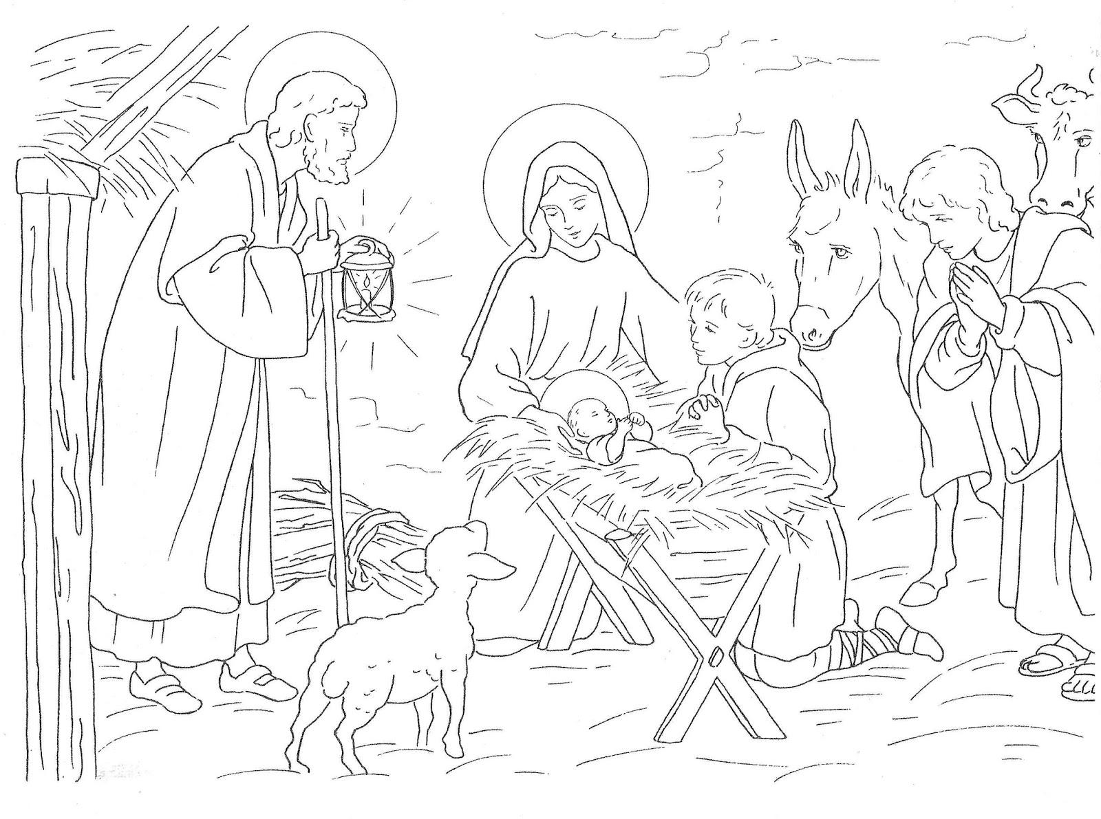Ausmalbilder Playmobil Familie : Ungew Hnlich Ausmalbilder Der Heiligen Familie Bilder Malvorlagen