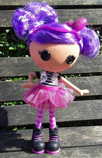 Lalaloopsy Storm E Sky - Review real hair doll