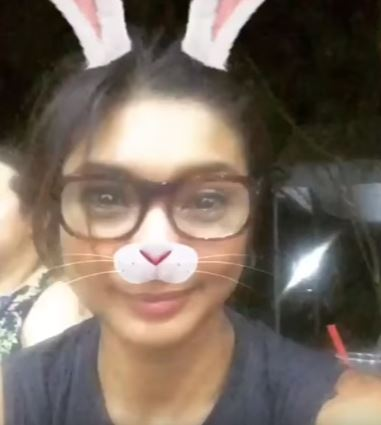 Angel Locsin And Bubbles Praiso Trying Out This Filter And They Both Look So Adorable! WATCH IT HERE!