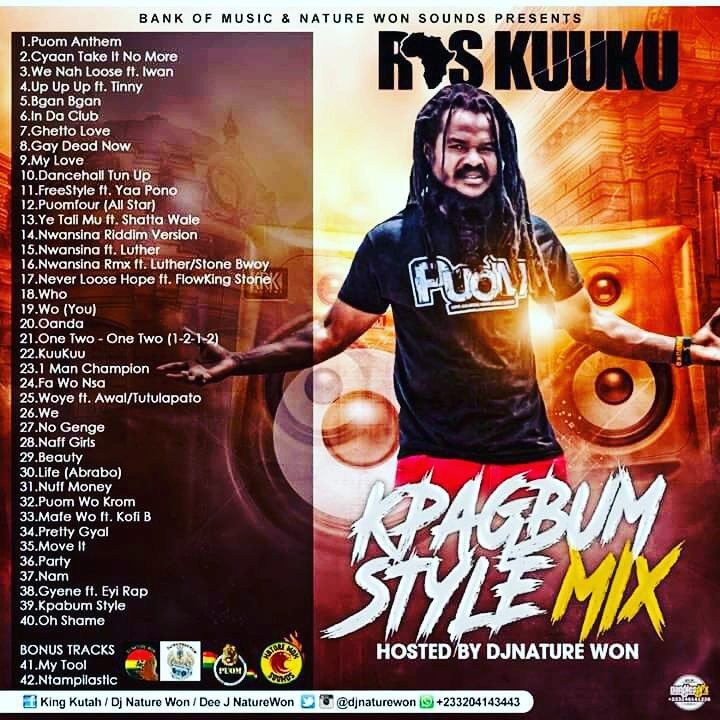 Reggae-Dancehall MIXTAPE]: DJ NATURE WON - RAS KUUKU