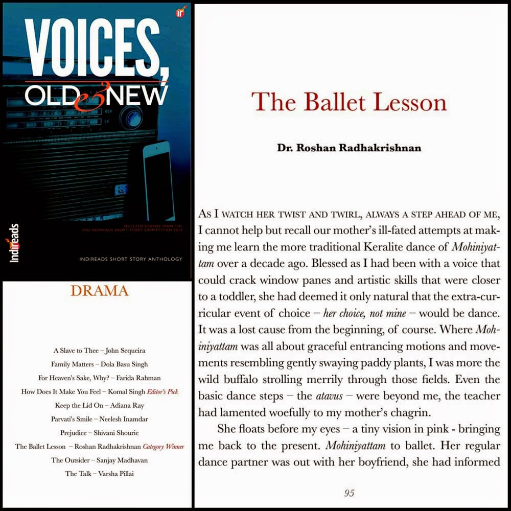 Indireads anthology: Voices, Old & New