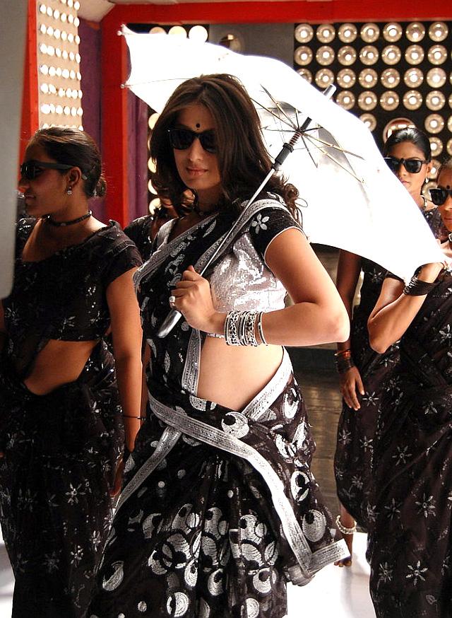 boony divine Lakshmi rai hot in saree