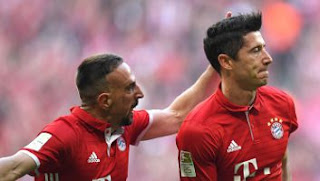 Video Gol Bayern Munich vs Borussia Dortmund 4-1