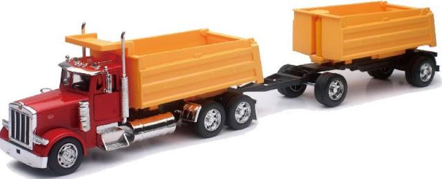 mainan mobil truk gandeng