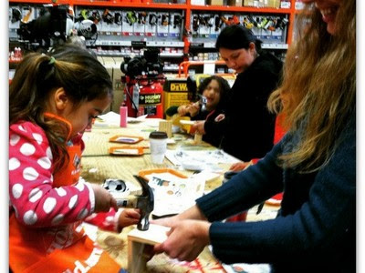Home Depot Classes for mom and dad
