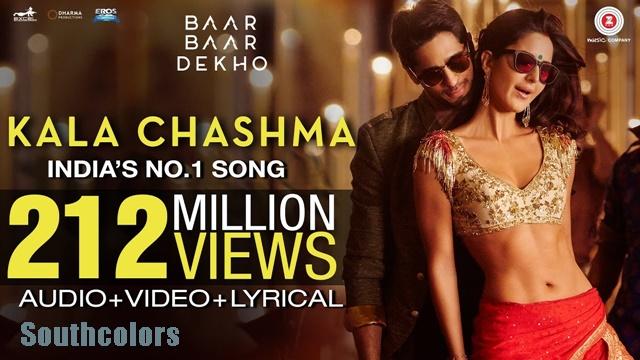 Kala Chashma Crosses 200 Million Views On YouTube
