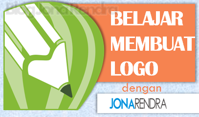 Belajar membuat logo di corel dengan jonarendra
