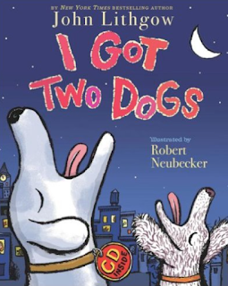 """I got two dogs"" by John Lithgow: Super fun picture book for your music classroom! Blog post also includes other activities for your music lessons!"