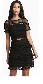 https://www.liquorishonline.com/liquorish-layered-lace-dress.html - priced at £65