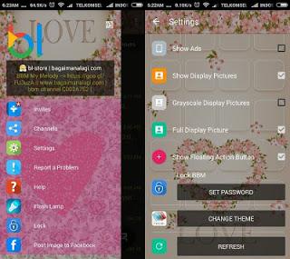 BBM Whatsapp Mod Love V2.12.0.11 Apk Terbaru 2016