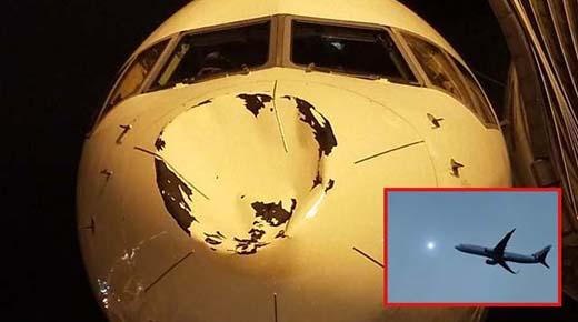 Avión con estrellas de la NBA es golpeado por OVNI a 9000 metros de altura