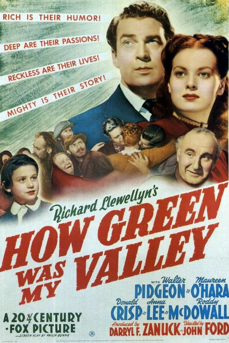Qu'elle était Verte Ma Vallée : qu'elle, était, verte, vallée, «poïèsis»:, Qu'elle, Verte, Vallée, Green, Valley), (1941)