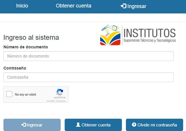 Consultar Asignacion de Cupos en Institutos Superiores Tecnicos y Tecnológicos 2017 Ecuador