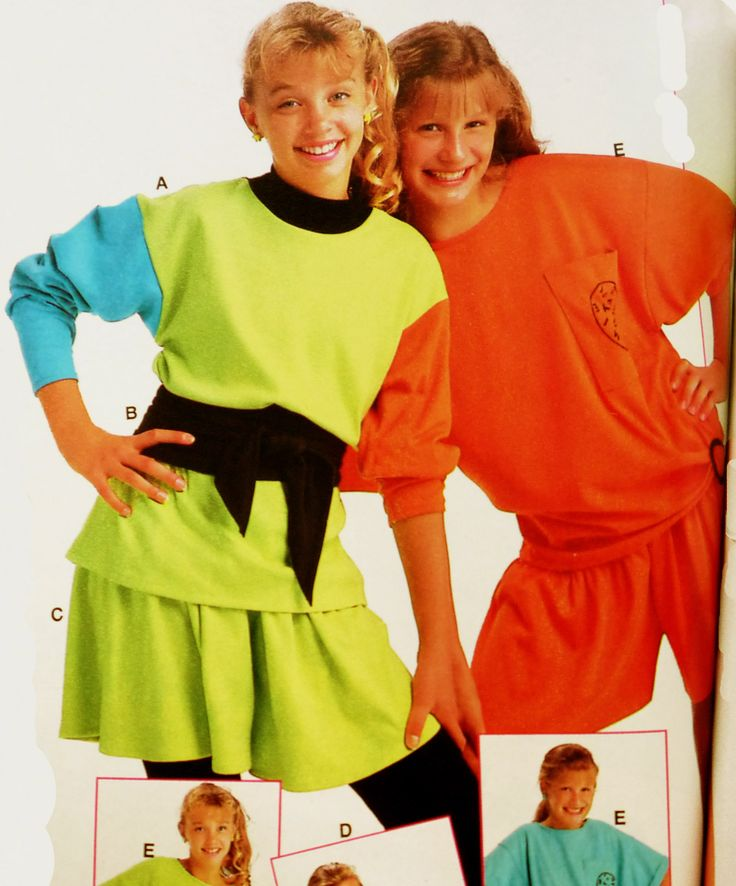 Girl  Worst S Early S Fashion Trends