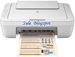 Driver Printer Canon MG 2570 dan Kode error MG 2570 - Sule