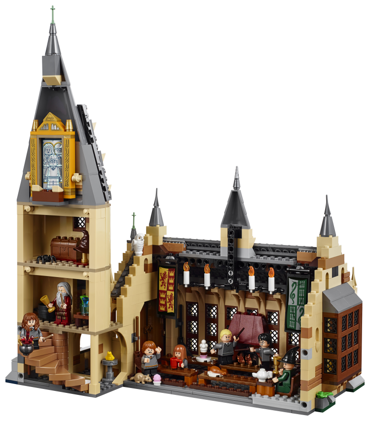Lego Hogwarts Castle The Great Hall