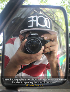 Cover Photo: Street Photography Quote - Ronak Sawant