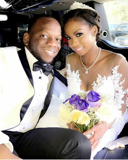 Beautiful Nigerian woman marries her first and only boyfriend years after she asked God for it