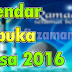 Kalendar Berbuka Puasa 2016 Seluruh Malaysia