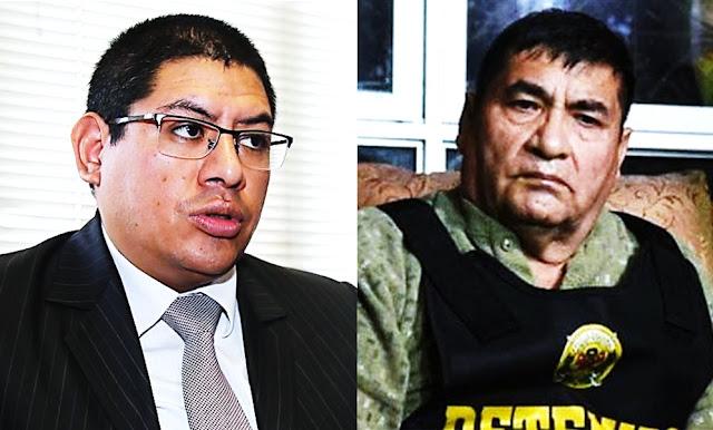 Fiscal Reynaldo Abia, Exalcalde de La Victoria Elías Cuba