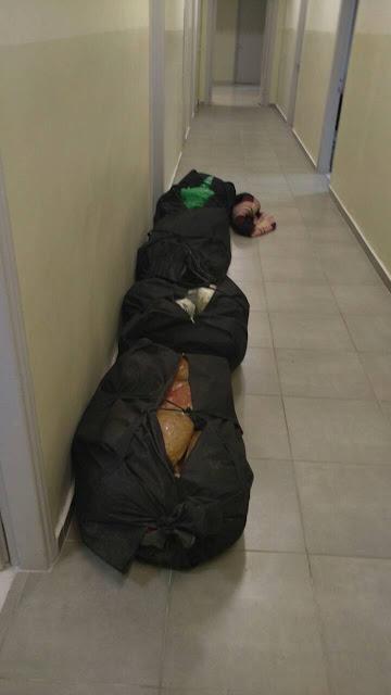 Συνελήφθησαν τέσσερις αλλοδαποί στα Αμπέλια Ηγουμενίτσας, με 76 κιλά κάνναβης