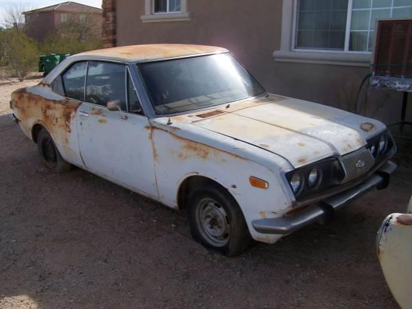 1972 Toyota Corona Project