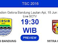 TSC 2016: Persib vs Mitra Kukar