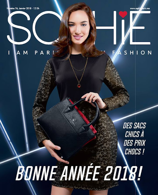 catalogue sophie paris maroc janvier 2018