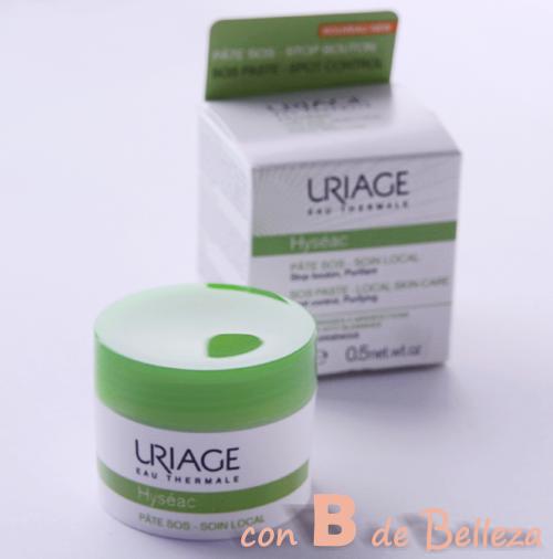Pasta granos Uriage Hyseac