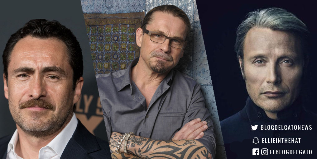 Demian Bichir (ben) kurt sutter (cillian) mad mikkelsen (mayor prentiss)
