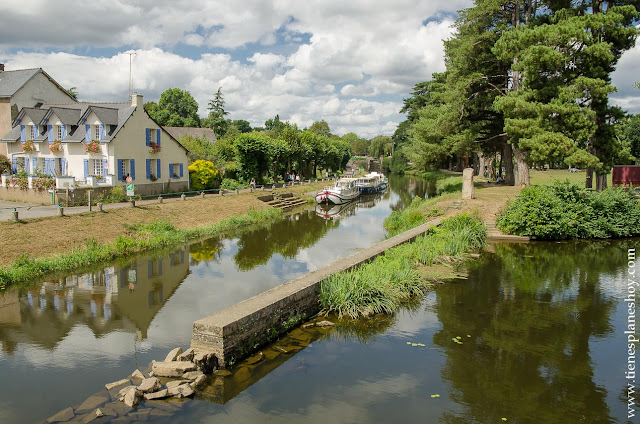 Viaje pueblos bonitos Bretaña Normandía diario
