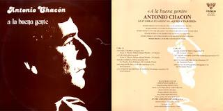 """ANTONIO CHACÓN, QUIQUE PAREDES """"A LA BUENA GENTE"""" COLISEUM-SENADOR 1984"""