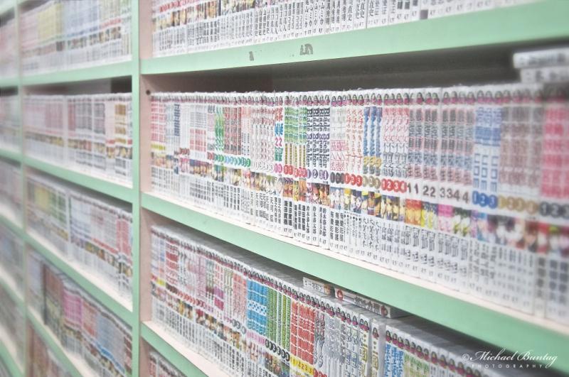 Manga Volumes, Hiro Comic World, Chinatown, Kuala Lumpur.