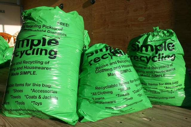 Free Simple Recycling Bags