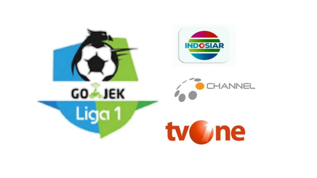 Stasiun TV Yang menyiarkan Gojek Liga 1 bersama bukalapak 2018