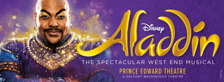 Aladdin West End Tickets