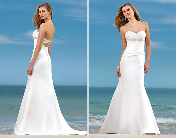 Wedding Dress Styles: Dream Wedding Place: Beach Wedding Dress Styles
