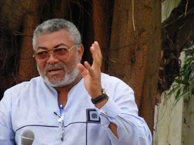 Jerry Rawlings Unhappy About NDC's Ghc420k Filing Fee