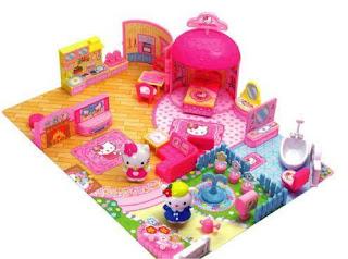 Gambar Rumah Hello Kitty Mainan 2