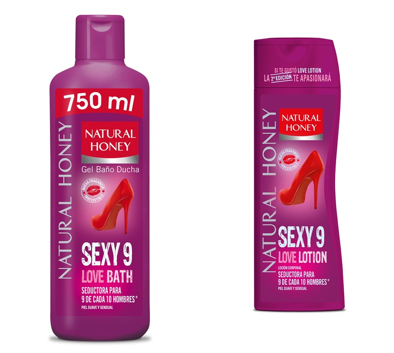 Sexy9, la segunda edición de Love de Natural Honey