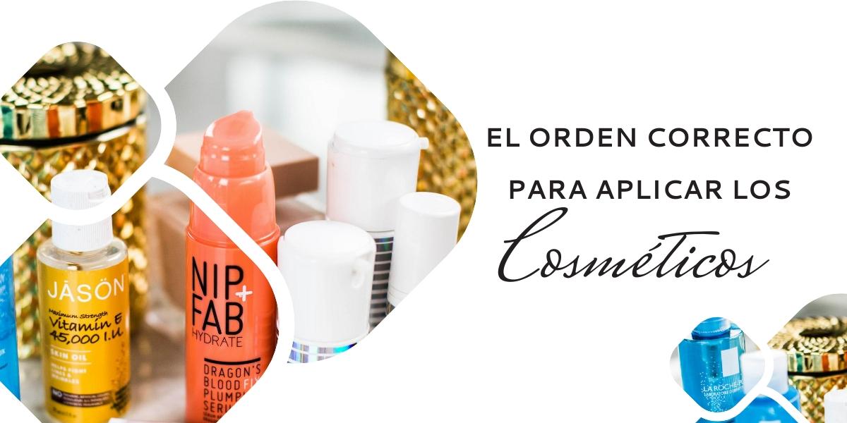 EL ORDEN CORRECTO PARA APLICAR LOS COSMÉTICOS