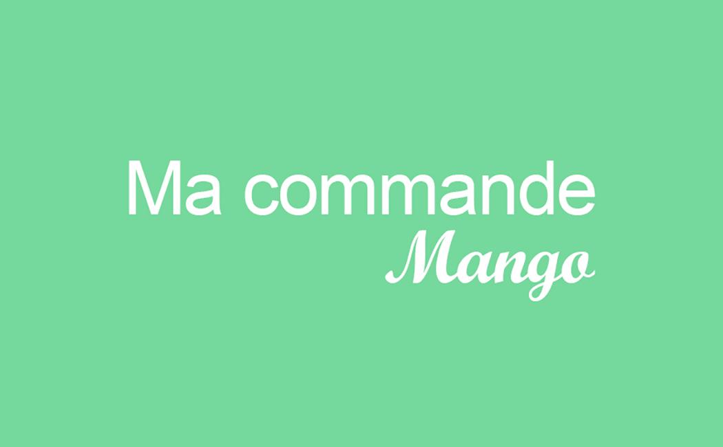Ma commande sur Mango