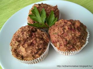 zöldséges muffin, vegán muffin, laktózmentes muffin, tejmentes muffin