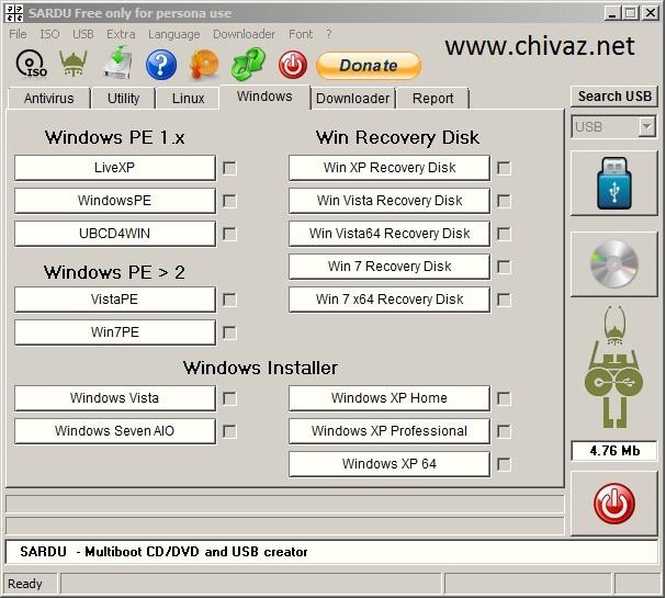 Install Windows Xp Dari Flashdisk Usb Multi Boot Uefi