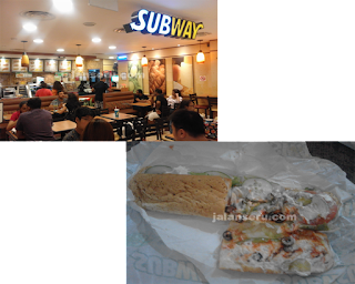 Makan Malam Murah Di Subway Dan Food Republic City Square Mall Singapore
