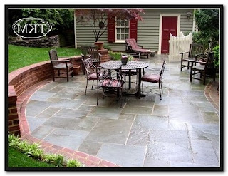 Pics Of Stone Patios With Brick