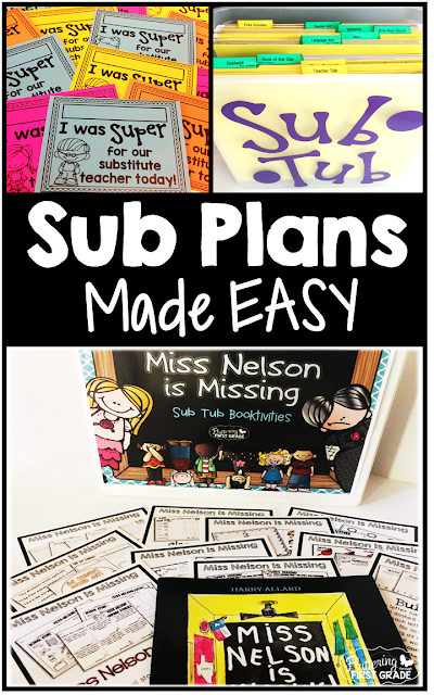 Sub plans made easy. Tips and tricks for taking a sub day and walking away!
