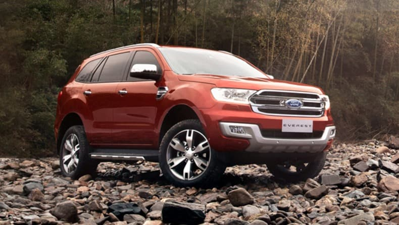 Ford Everest Titanium 2017 Review