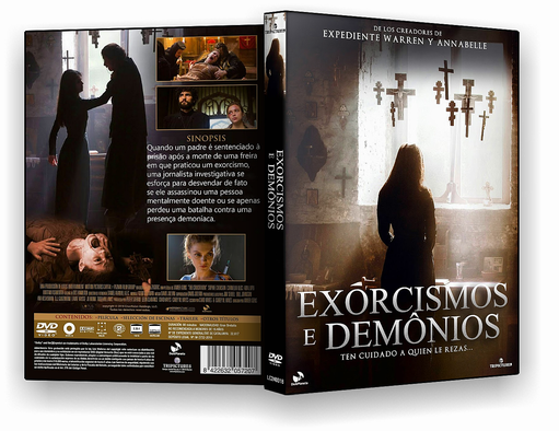DVD – EXORCISMOS E DEMONIOS 2018 – ISO – CINEMA
