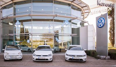 Εβδομάδα Ηλεκτροκίνησης από την Volkswagen στην Karenta Αμαρουσίου